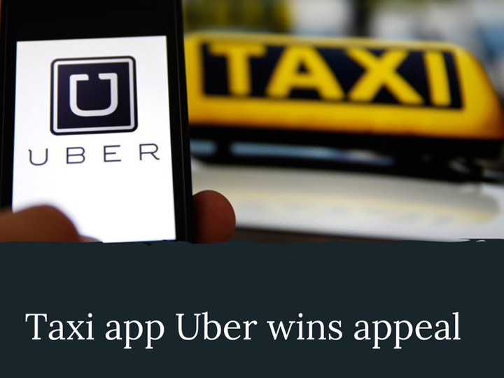 Uber has won its appeal against Brighton and Hove City Council
