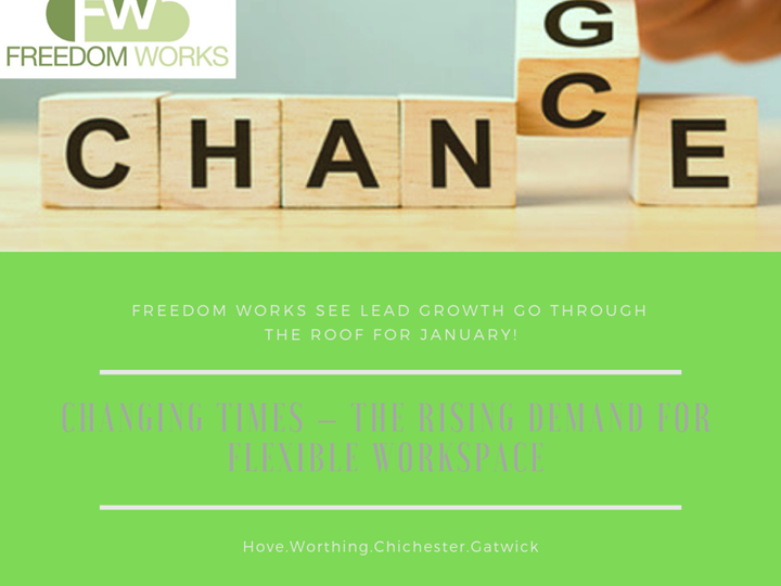 Freedom Works see lead growth go through the roof for January!