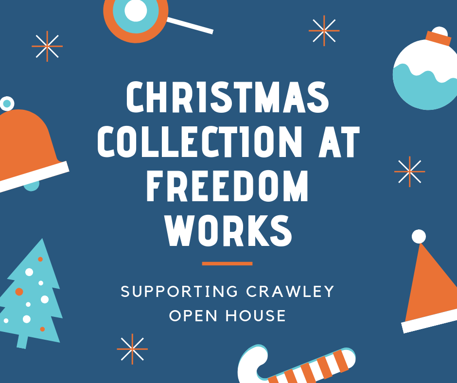Christmas Collection for Crawley Open House