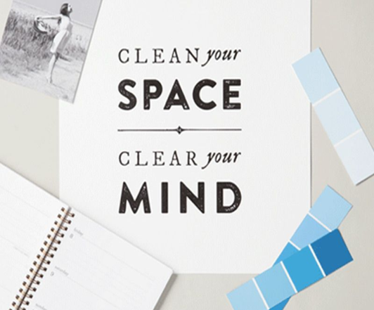 How decluttering your workspace can lead to a clearer mind...