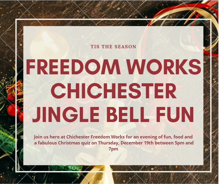 Freedom Works Chichester Jingle Bell Fun