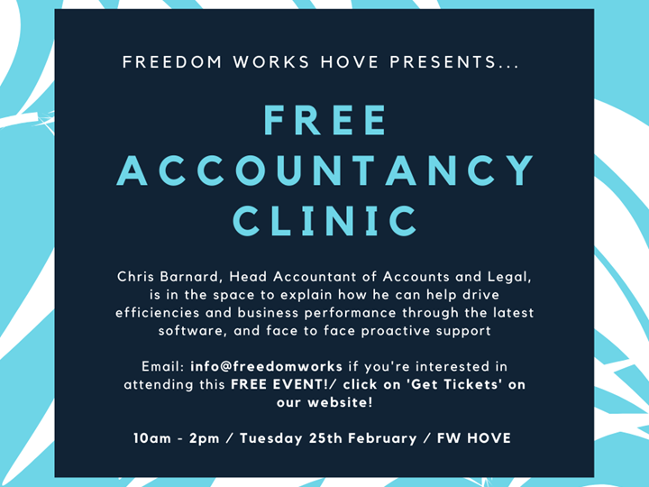 FW Hove - Free Accountancy Clinic