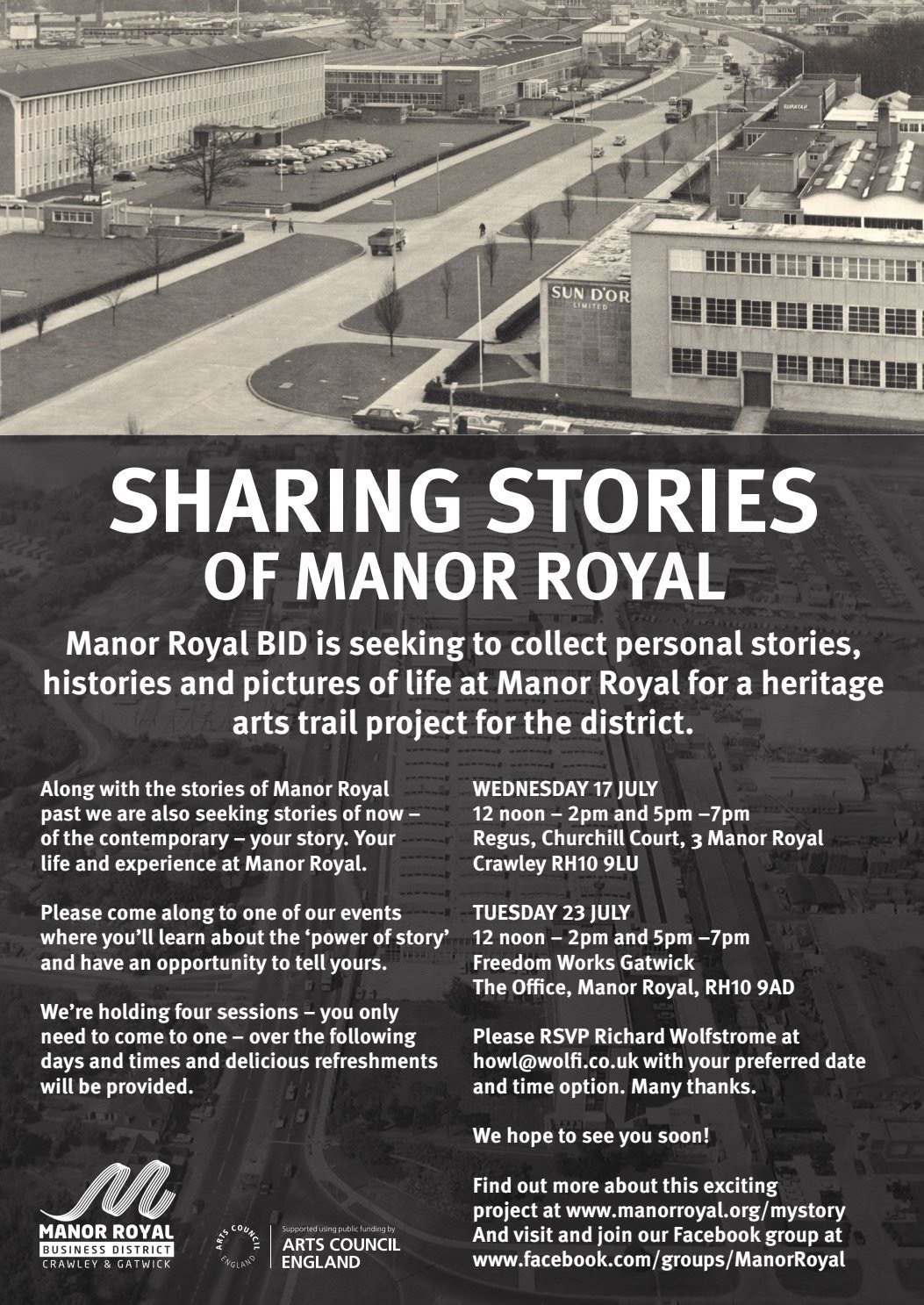 Sharing stories of Manor Royal