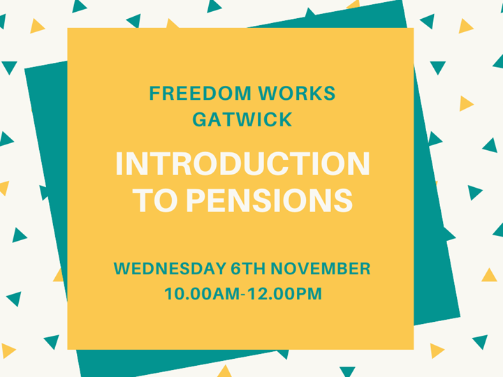 Introduction to pensions - free talk and a cuppa with Samantha Kaye